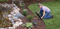 Professional Landscape Edging Installation