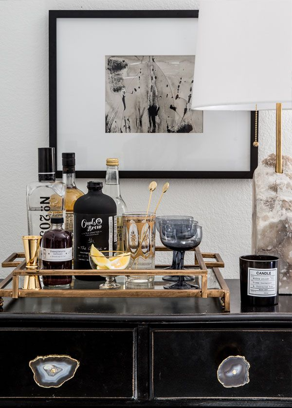 Apartment 34 - how to style a bar