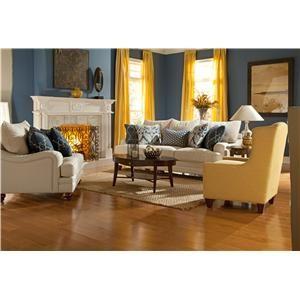 Craftmaster 729050 Stationary Living Room Group
