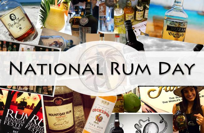 Cheers to August 16th! National Rum Day!
