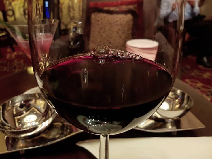 This is what I call a glass of red wine! #macau #casino #travelling #trip #asia #chef #chefsofinstagram #cheflife #wine #glass #night