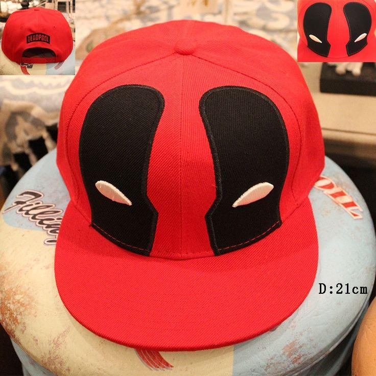 Deadpool Summer superman Baseball anime Cap Hat For Men Women Gorras Casual Bone Hip Hop Snapback Cap