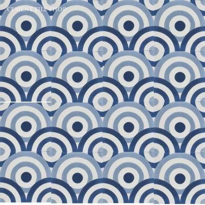Design Textures amp Patterns Blue White Tile Pattern