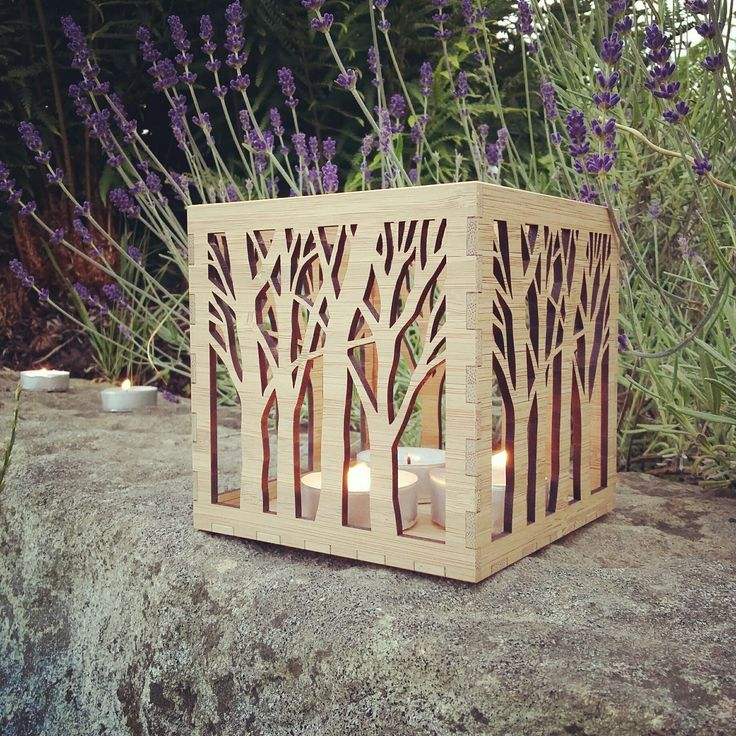 Our unique tree tea light holder is the perfect gift for a wedding, anniversary or housewarming. Bring nature into your home with our beautiful candle holder. Lanterns are all handmade by us in our UK workshop.