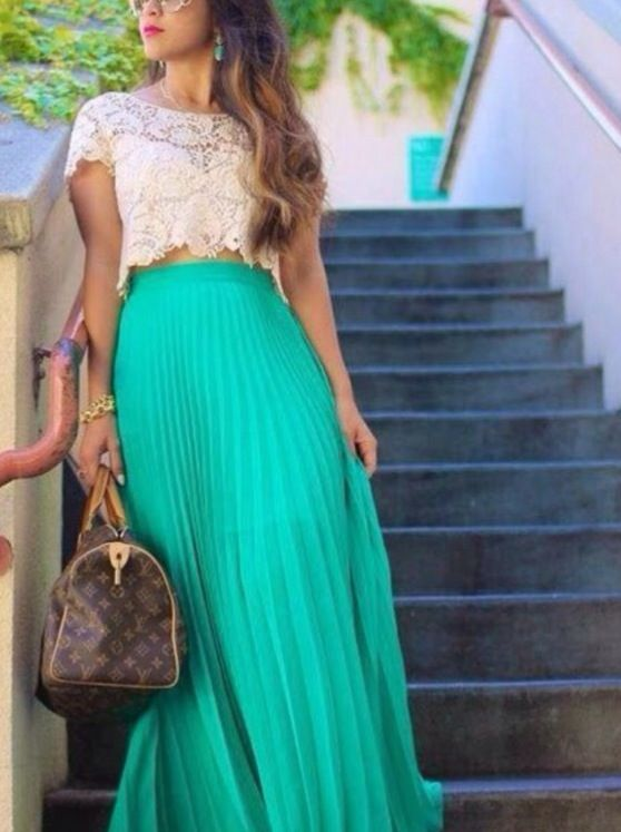 long skirt / top