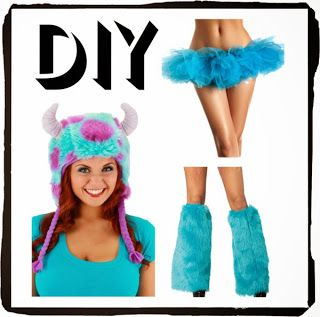 Pure Costumes: DIY Disney Costumes: Mike and Sulley from Monsters Inc.