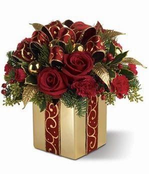 Pátio das Flores: Arranjos de Natal                                                                                                                                                      Mais