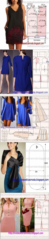 Шьем платья. Выкройки (9 фото) | WmnDay.ru - Handmade, фитнес, интерьеры