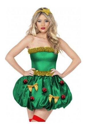 XM331-12 Costum cu tematica de Craciun - Christmas Tree (brad)