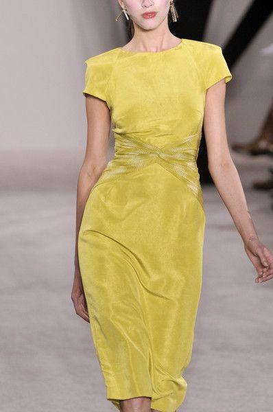 Jason Wu, neat classic yellow dress