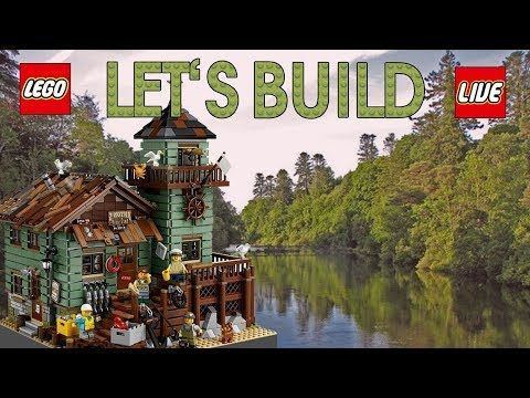 LEGO IDEAS  Alter Angelladen 21310   Let's Build Review Unboxing Deutsch sToNe2k6