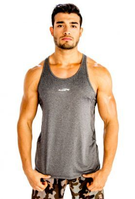 Wholesale Mens Gray Vest With Camo Shorts