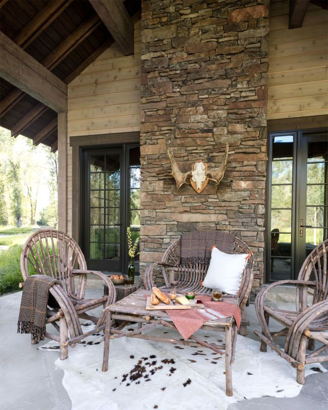 117 best images about willow furniture on pinterest for Log cabin additions ideas