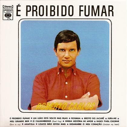 1964-Roberto Carlos - LP É Proibido Fumar.jpg (420×420)