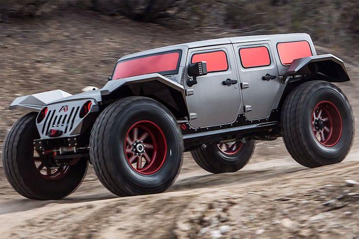 Jeep Wrangler als Fab Fours Legend - Bilder - autobild.de
