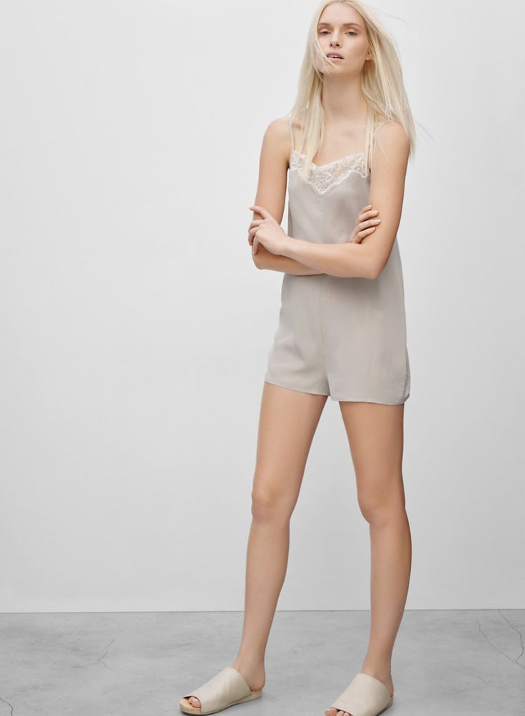 WILFRED OYONNAX ROMPER - A delicate one-piece that's just a little bit sexy