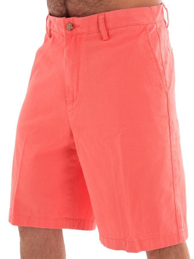 NAUTICA Ανδρική κλασική τσίνος βερμούδα, πίσω κρυφές τσέπες, ροζ χρώμα. 59 € από 66€