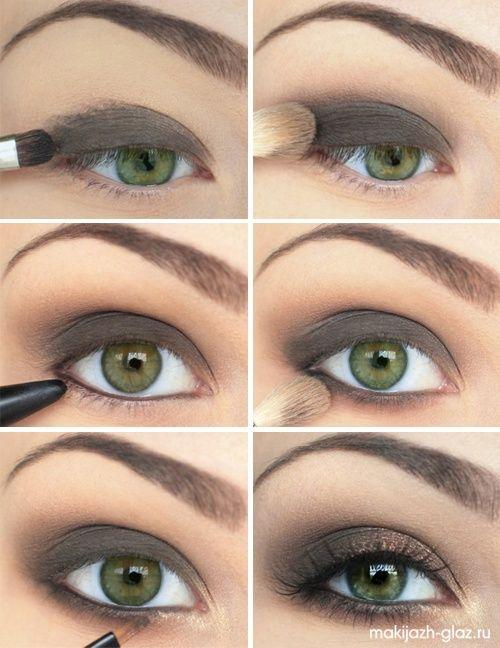 Brown Eye Make-Up