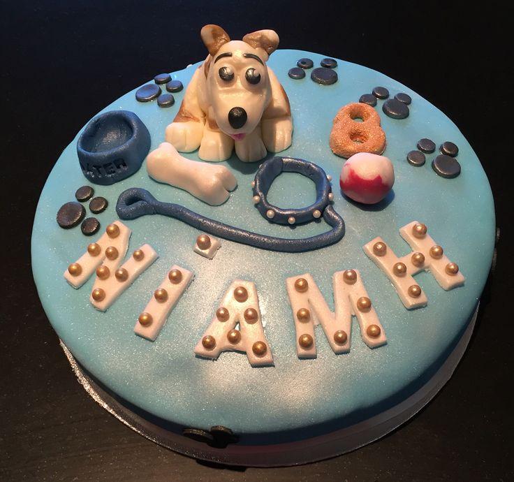 Dog Themed Birthday Cake 🐶☺️