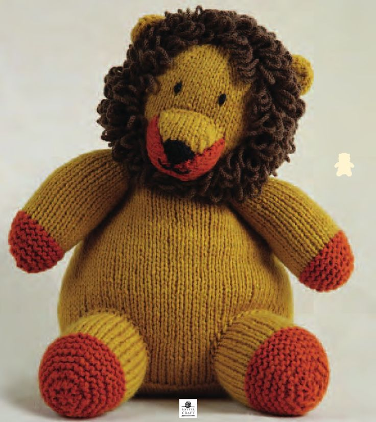 Knitted Lion Pattern Images Knitting Patterns Free Download