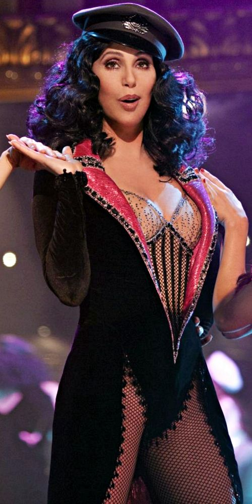Cher, my favorite singer, actress, all around celeb, is 70 years old today (May 20, 2016). I aspire to be as cool as her in my 70's. This picture is from 5 years ago in Burlesque (65 years old!!)