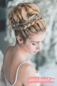 Wedding hair and make up by loveanddiamond.ru #weddinghair #curls #wedding #makeup #wedding #updo #hairstyle