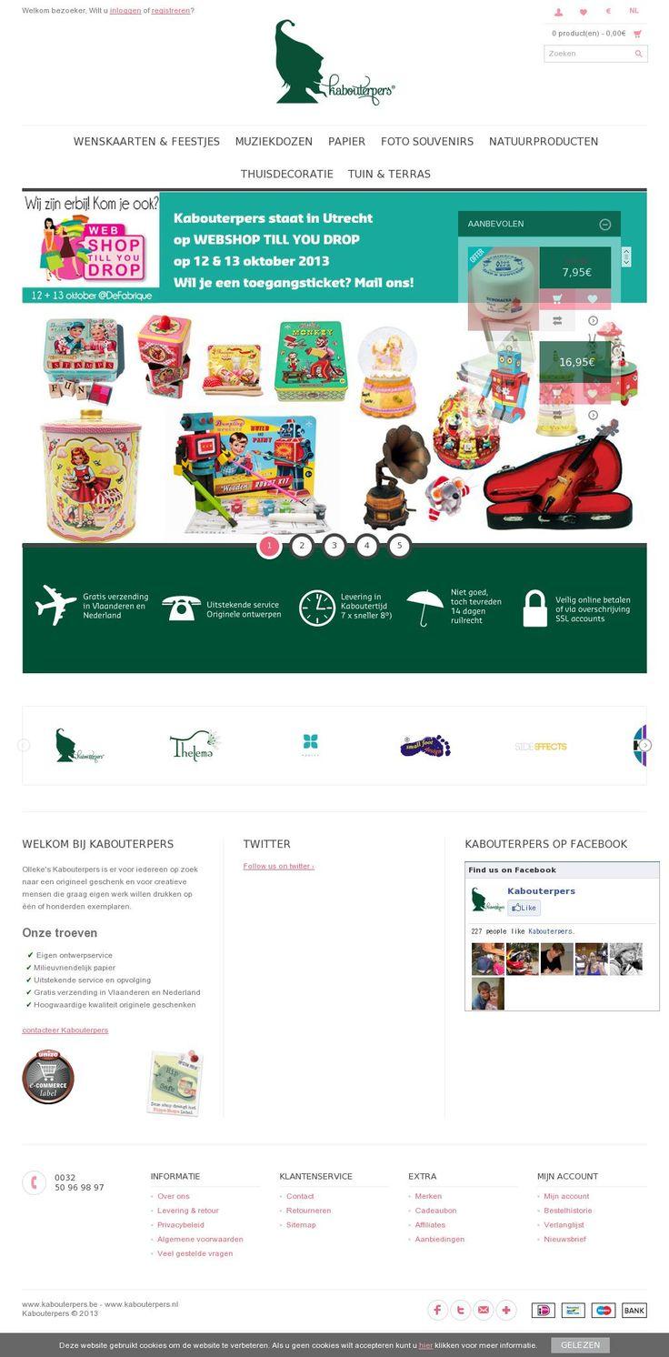 Olleke's Kabouterpers is er voor iedereen die op zoek is naar een origineel geschenk en voor creatieve mensen die graag eigen werk willen drukken op één of honderden exemplaren. www.kabouterpers.be #webshop
