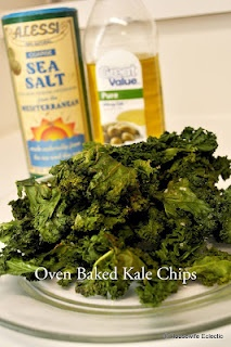 Housewife Eclectic: Oven Baked Kale Chips  these are AWESOME---even my 11 yo eats them!!!