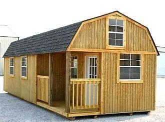 12' x 32', dual loft, Weather King portable cabin. - direct site: http://www.weatherking.biz/index.aspx
