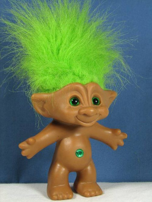 errrrrrrr how much Mega Freeze Hair Spray would it take to recreate this iconic look? 1980's toy fun