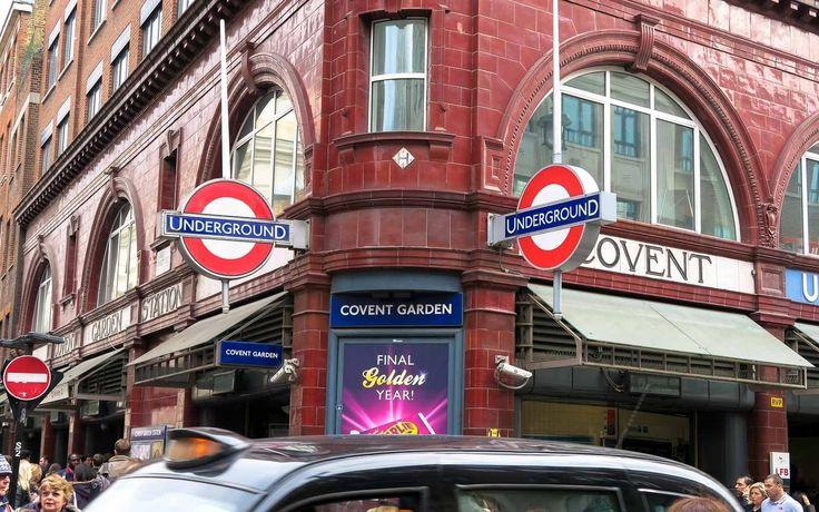 Covent Garden Tube Station, London