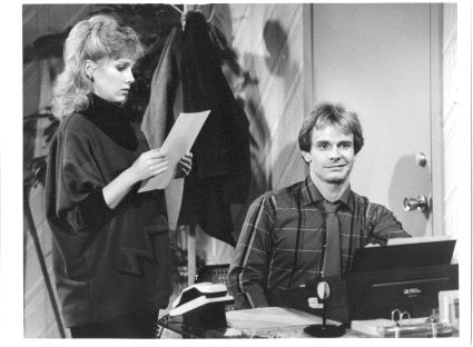 I loved Newhart because every character was crazier then the last one. But two of my absolute favorites were Peter Scolari and Julia Duffy as Michael and Stephanie. I'm so glad to see both of them back on TV shows again after a long time. They are still great.