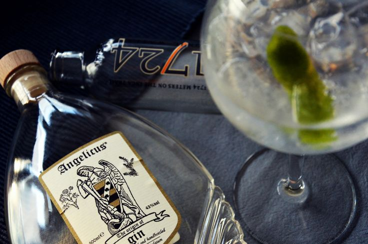 Angelicus Gin & Tonic Anyone?  http://gincubator.be/angelicus-gin-tonic-recept/