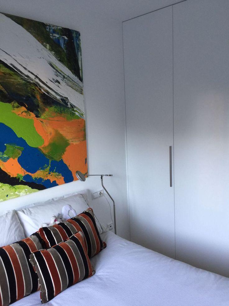 Decoración dormitorio minimalista.
