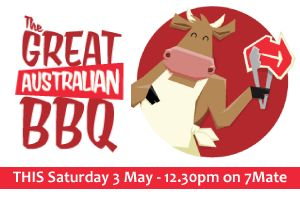 One more day to go! Catch me on 7mate this Saturday 3rd May at 12:30pm #greataussiebbq