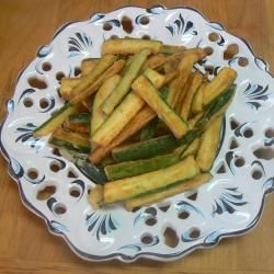 Bastoncini di zucchine fritte @ allrecipes.it