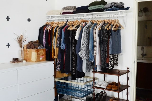 9 Ways to Organize a Bedroom With No (or Very Small) Closets