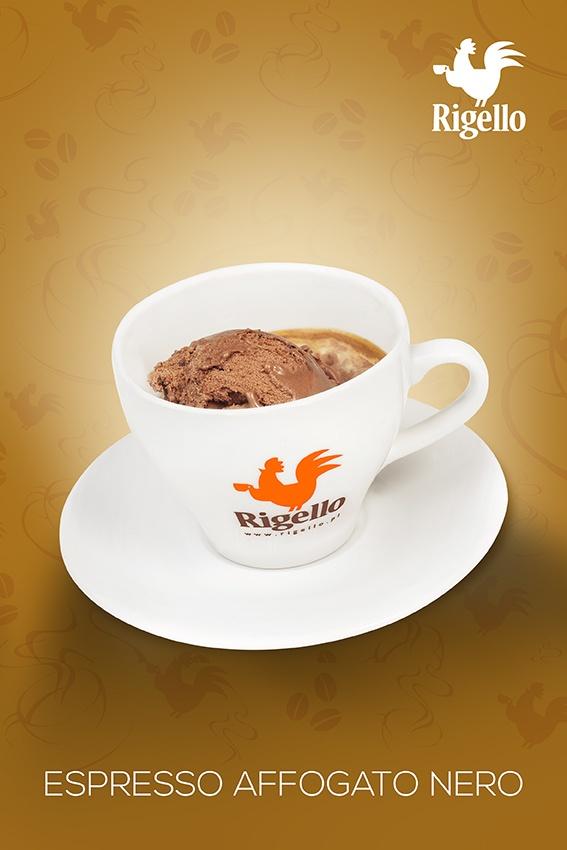 #Espresso Line: Espresso #Affogato Nero #Coffee