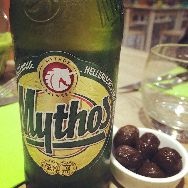 Mythos bière grecque