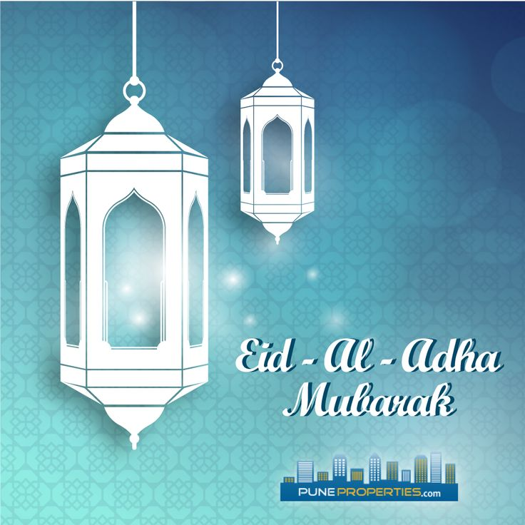 May the divine blessings of Allah brings you all hope, faith, and joy on Eid-Ul-Adha & forever.  Happy Eid Ul Adha!! #PuneProperties #EidUlAdha