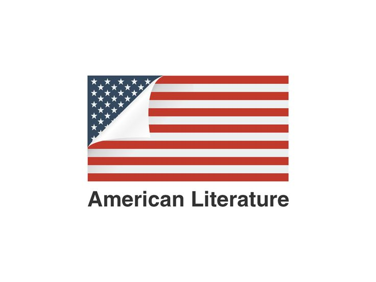 American Literature Logo by Niall Staines