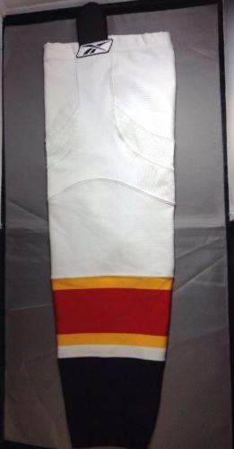 "Florida Panthers Hockey Socks Reebok Edge SX100 CCM 27"" Adult Medium White 1Pair"