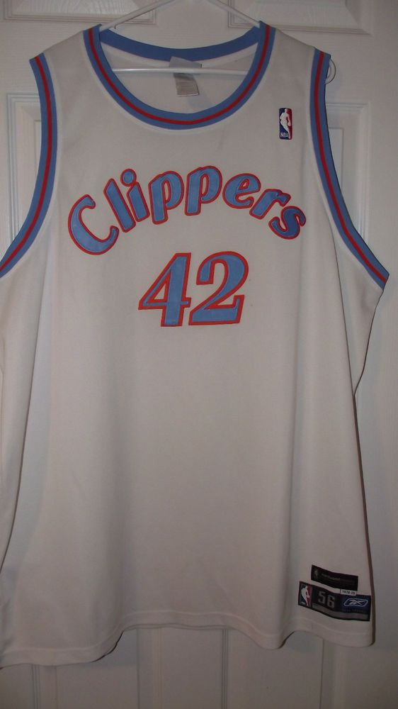 Elton Brand 42 Los Angeles Clippers NBA Basketball Jersey size 56 Reebok Classic #Reebok #LAClippers