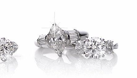 бриллиантовые кольца анимированные - анимационные картинки