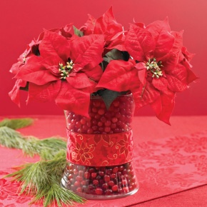 1000 Images About Poinsettia Centerpiece On Pinterest