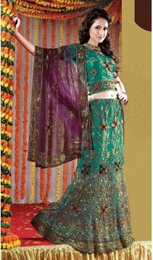Bridal Indian Wedding Lehenga Choli in Emerald Color Net with Circular Style | FH558683337 Follow us @heenastyle #latestlehenga #lehengasareesonline #lehengasuit #onlinelehengashopping #bridallehengasonline #designerbridallehengas #weddinglehengacholi #pakistanilehenga #pinklehenga #lehengastyles #fishcutlehenga #bollywoodlehenga #designerlehengasaree #lehengasareeonlineshopping #indianbridallehenga #weddinglehengacholi #weddingdress #designergown #heenastyle