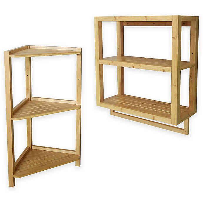 Bamboo Shelf Collection   Bed Bath & Beyond   Bamboo shelf ...