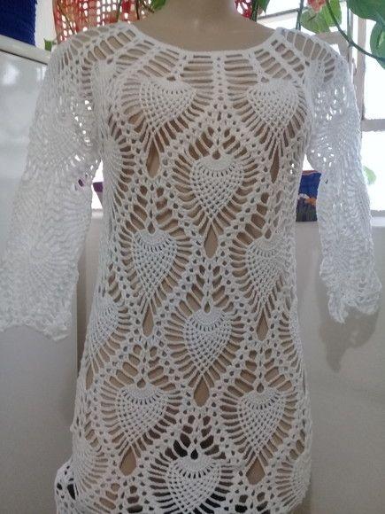 e42dba0ff Compre vestido em croche no Elo7 por R  320
