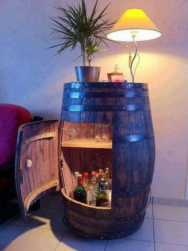 Man Cave Mini Bar
