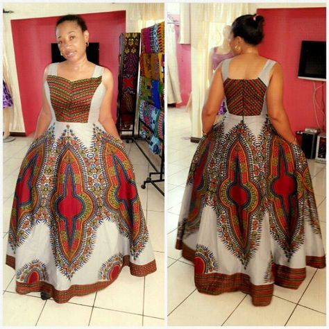 """Colour and pattern arrangment on point...AVAILABLE @ our showroom ,The """"angelina"""" dress #Anasimba#"""